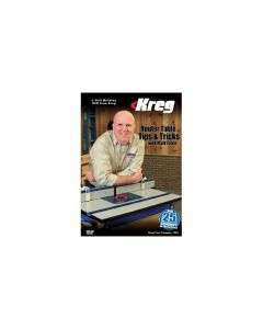 The Kreg V09-DVD DVD Router Table Tips