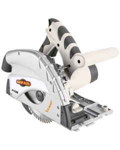 Shop Fox W1835 120-Volt 9A 5,500 RPM Portable Track Saw with 48T Saw Blade