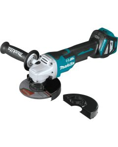 "Makita XAG21ZU 18V Brushless Cordless 4_1/2""-5"" Paddle Switch Angle Grinder"