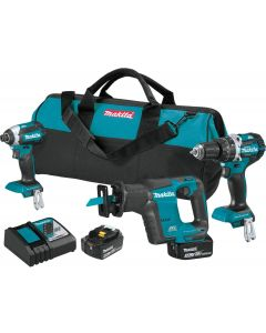 Makita XT337T 18V LXT Brushless 3-Piece Combo Kit with Bag