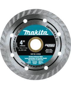 """Makita A-94546 4"""" Turbo Rim Diamond Masonry Blade NEW"""