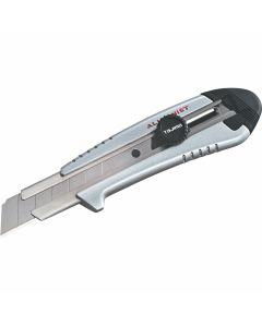 """Tajima AC-701S 1"""" Rock Hard Aluminist Silver Magazine Utility Knife w/ 3 Blades"""