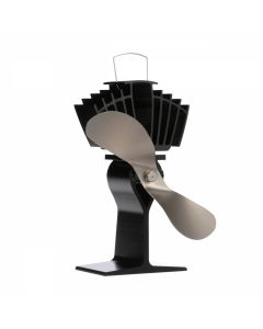 Nickel Wood Stove Fan