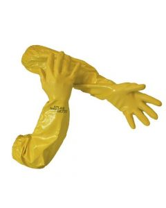 Chemical Resistant Yellow Gloves