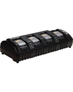 Makita DC18SF 18V LXT Lithium_Ion 4_Port Charger