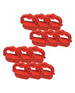 Kreg DECKSPACER-R Deck Jig Spacer Rings 1/4-Inch Red - 12 PK