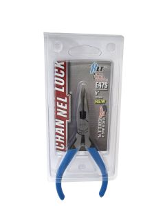 Channellock E47S 5-inch Little Champ Precision Long Nose Pliers with Side Cutter