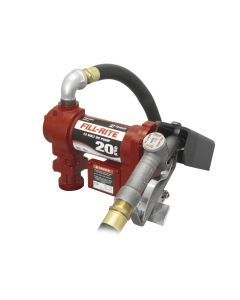 Tuthill/Fill-Rite FR4210G 20 GPM 12V DC High-Flow Fuel Transfer Pump
