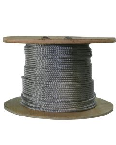 West Coast Wire Rope G316150C 500 Ft of Galvanized Wire Rope 3/16-inch