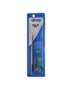 KREG KJD-DECKBIT Deck Jig Drill Bit, Depth Collar and Allen Wrench