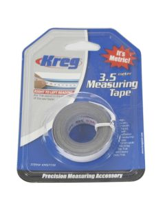 Kreg KMS7728 1/2-Inch Self-Adhesive Measuring Tape 3.5 Meter