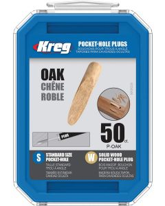 "Kreg P-OAK-50 3/8"" Max Oak Pocket Hole Plugs - 50 count"