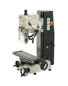 "Shop Fox M1111 Variable Speed 6"" x 21"" Dovetail Mill/Drill Column X3"