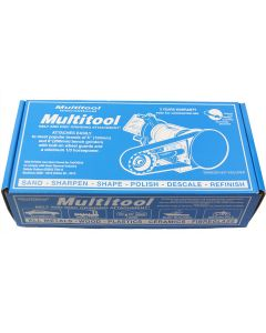 "Multitool MT362P6J Multitool Belt Grinder Attachment w. 6"" .5-HP Jet Grinder"