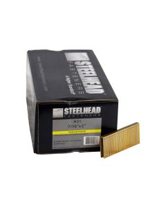Steelhead N21 Galvanized Staples, 7/16-In Crown, 16-Gauge, 2-In leg, 10,000-Pack