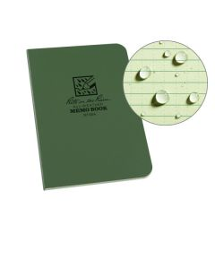 Rite in the Rain 954 Green Tactical Memo Book Field-Flex 5-Inch x 3 1/2-Inch