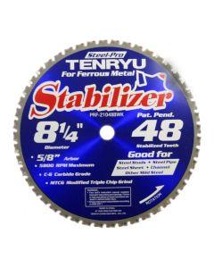 Tenryu PRF-21048BWK 8-inch Carbide Tipped Table Miter Saw Blade