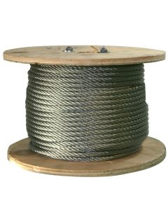 West Coast Wire Rope S516250 250 Ft of Stainless Steel Wire Rope 5/16 inch
