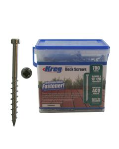 KREG SDK-C2SS-700 2-Inch, #8 Coarse, Stainless Steel Deck Screw, 700 Ct