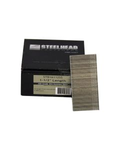 Steelhead STB16112SS 16-Gauge 1-1/2-inch Stainless Steel Nail Brads, 2,500-Pack