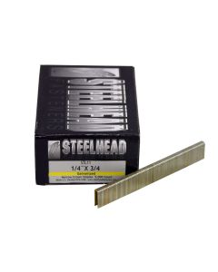 Steelhead STL11 18-Gauge 1/4-inch by 3/4-inch Galvanized Staples, 5,000-Pack