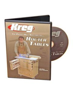 Kreg V06-DVD-Pocket Hole Joinery DVD Building a Router Table