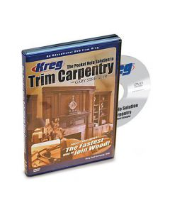 Kreg V07-DVD The Pocket Hole Solution to Trim Carpentry