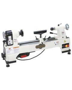 Shop Fox W1752 1/2 HP 6 Speed Mini Wood Lathe
