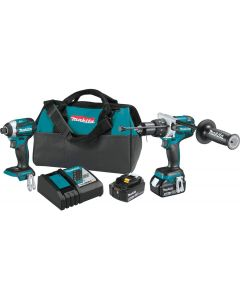Makita XT268T 18V LXT Lithium_Ion Brushless Cordless 2_Pc. Combo Kit (5.0Ah)
