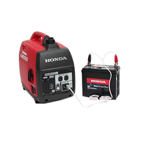 Honda Generator Charging A Car Battery