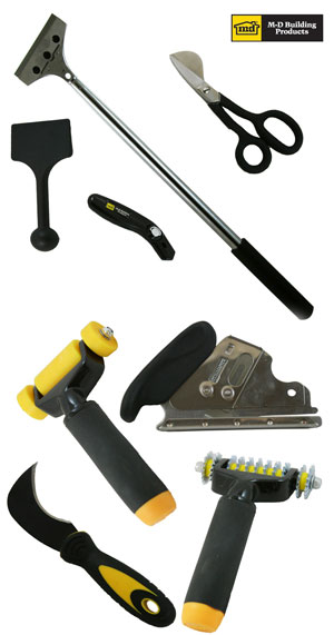 carpet installation tools. do-it yourself carpet installation kit includes up to 8 hand tools. tools