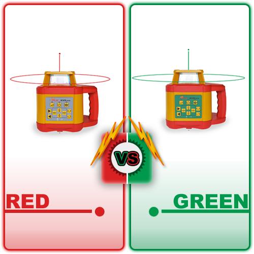 Green Beam Laser Level vs. Red Beam Laser Level