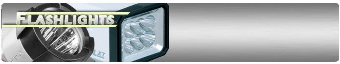 Battery Powered Flashlights