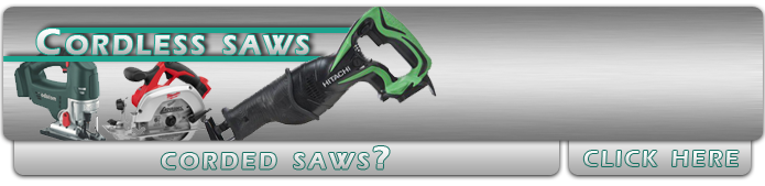 Battery Operated Saw Tools