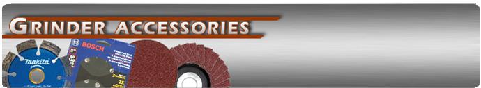 Grinder Discs and Accessories
