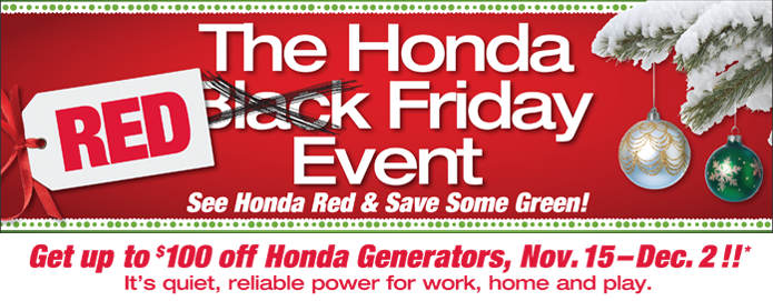 Honda Red Friday Event