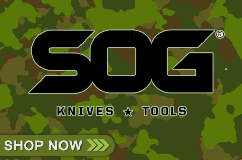 SOG Outdoor Knives Multi-Tools Camping Gear