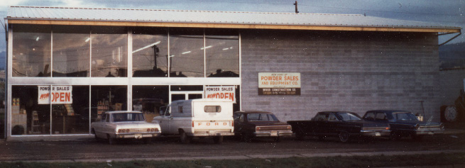 The original Powder Sales hardware store