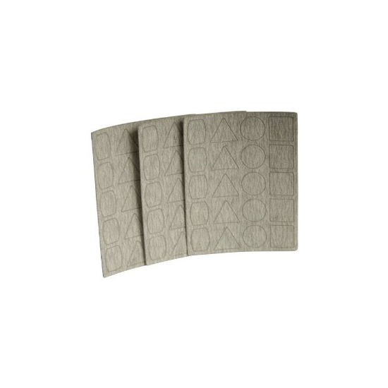3 Sheets 400 Grit with each 20 Adhesive Pads Proxxon 28826 Sandpaper for PS 12
