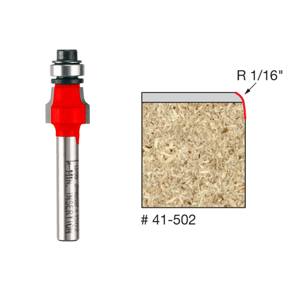 Freud 41-110  8-Degree Two Flute Bevel Trim Router Bit