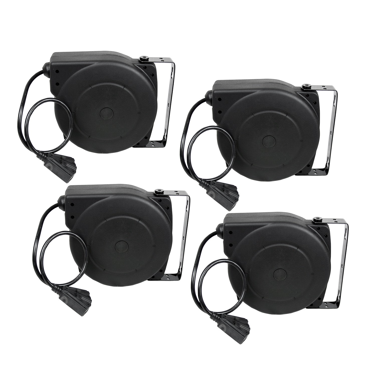 Retractable Extension Cord Reel >> Details About Alemite 7262 A 40 Feet 12 3 Retractable Extension Cord Reel 4 Pack