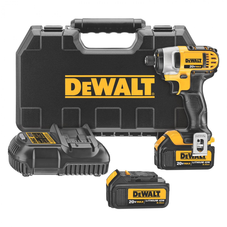DeWALT DCF885L2 20v Cordless Impact Driver