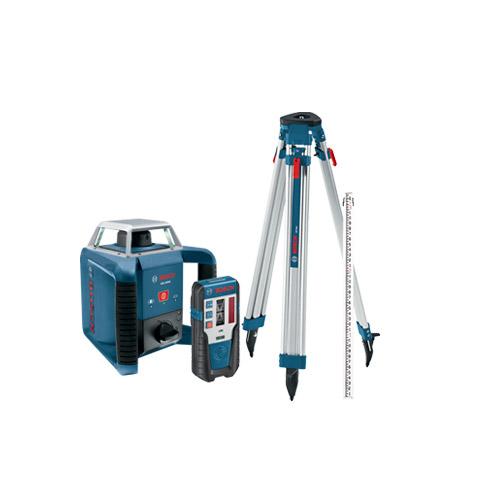 Bosch GRL400HCK Self Leveling Rotary Laser Exterior Kit