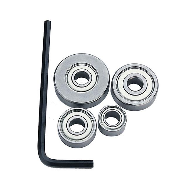 B8 Bearings with 3//32 Hex Key Wrench B7 5-Piece Kit B3 Whiteside BB501 B2