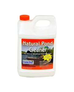 Crystal Blue 00114 All Natural Pond Premium Aquatic Bacteria Cleaner, 1 Gallon