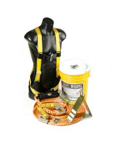 Rooftop Protection Safety Kit by Guardian Fall Protection