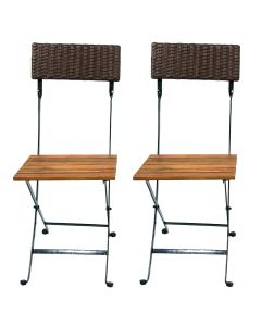 Folding Side Chairs by Generic