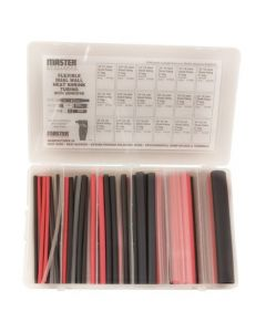 Master Appliance Flexible Dual Wall Heat Shrink Tubing w/ Adhesive Assortment Kit
