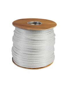 "CWC 110016 3/8"" Solid Braid Polyester Rope 500' Long W/ UV Protection"