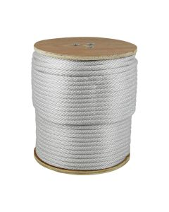 "CWC 110019 1/2"" Solid Braid Nylon Rope 500'"
